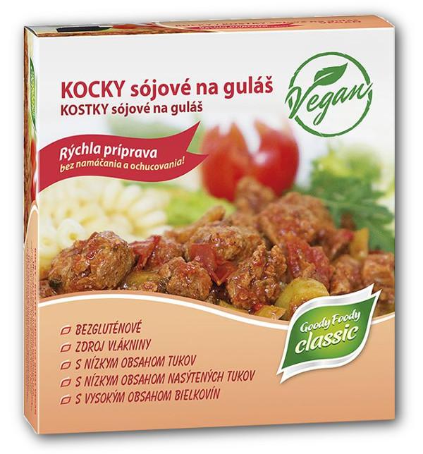 Goody Foody kocky sójové na guľáš 200g