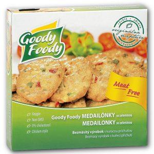 Goody Foody medailónky so zeleninou 150g