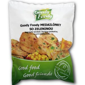 Goody Foody frozen medallions with vegetables 400g