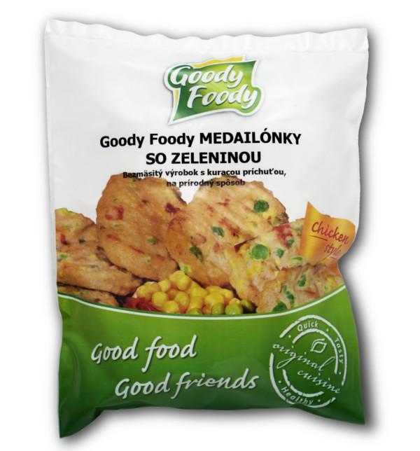 Goody Foody mrazené medailónky so zeleninou 400g