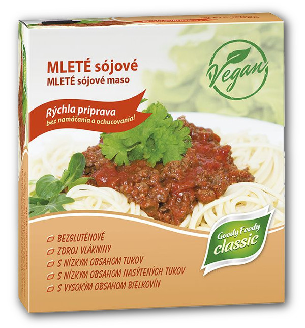 Goody Foody mleté sójové mäso 200g