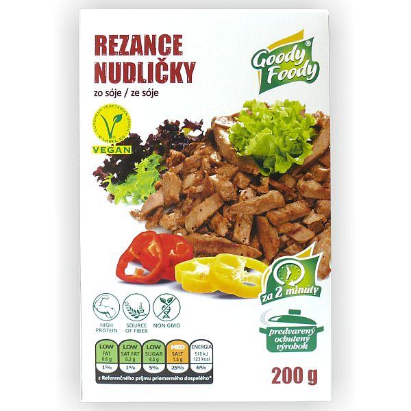 Vegánske REZANCE Goody Foody