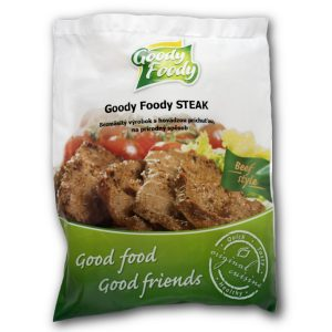 Goody Foody beef steak mrazený 400g