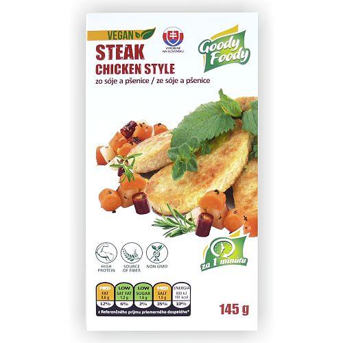 Vegánsky STEAK chicken style Goody Foody