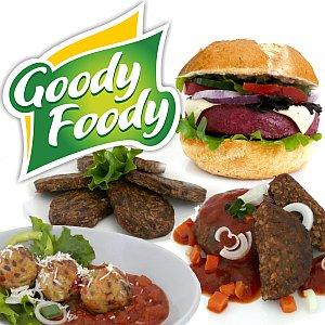 Vegán hamburgerek Goody Foody hűtve