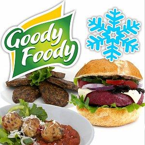Vegán hamburgerek Goody Foody fagyasztva