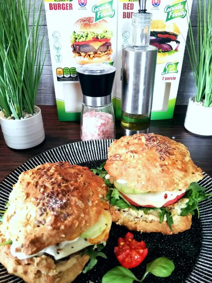 Vegan,Vegetarian, Burger