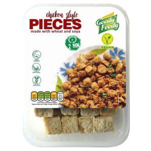 Vegánske PIECES, chicken style Goody Foody